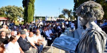 Görme Engelliler Homeros Okumaları ile barış mesajları gönderdi