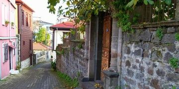 Tarihi Giresun evleri restore ediliyor