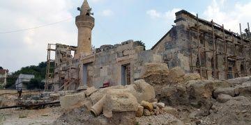 Kadirli Ala Camiinde restorasyon çalışmaları yıl sonunda bitecek