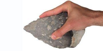 İnsansı türlerin taş alet üretiminde elin faktörü çok büyük