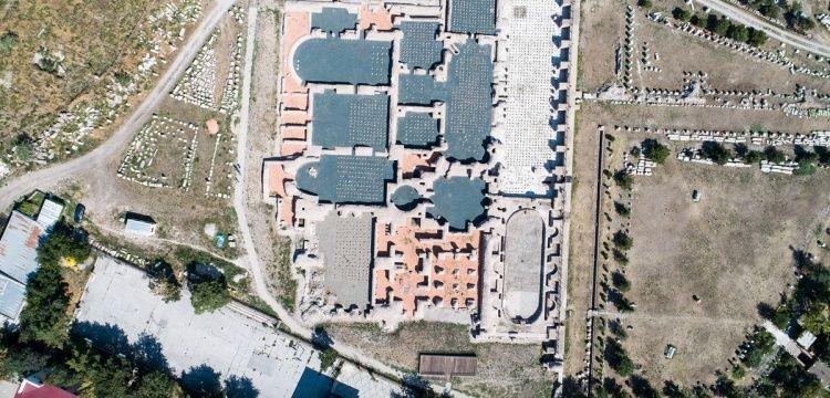 Ankara'da Asklepion'a adanan Roma Hamamı