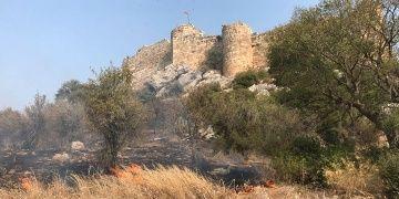 Kastabala Antik Kenti yanma tehlikesi atlattı