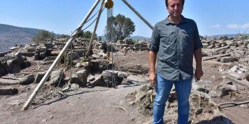 Bizanslıların su kuyusuna doldurduğu tapınak kalıntıları bulundu