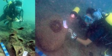 Alanyada 2 bin yıllık 2 batık gemi bulundu