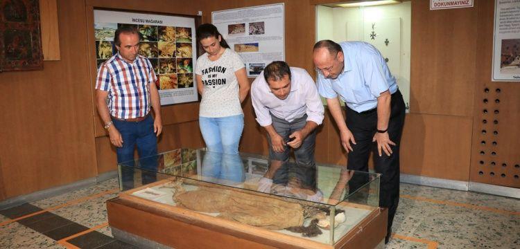 Karaman Müzesi'ndeki 1400 yıldır çürümeyen güzel