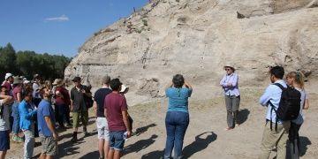 Aşıklı Höyük yabancı arkeologları ağırladı