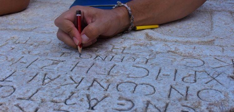 Bilecik'in antik kitabeleri tek tek kayıt altına alındı