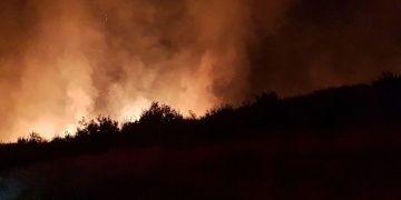Titus Tüneli ve Beşikli mağarayı tehdit eden yangın korkuttu