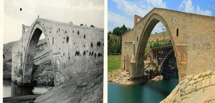 Aynı kadrajdan Diyarbakır'ın yüzyıl öncesi ve bugünü