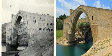 Aynı kadrajdan Diyarbakırın yüzyıl öncesi ve bugünü