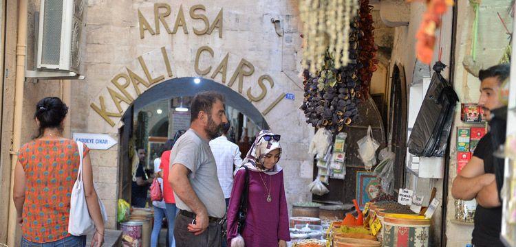 Mardin'in 600 yıllık antik çarşısı:Arasa Hanı