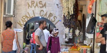 Mardinin 600 yıllık antik çarşısı:Arasa Hanı