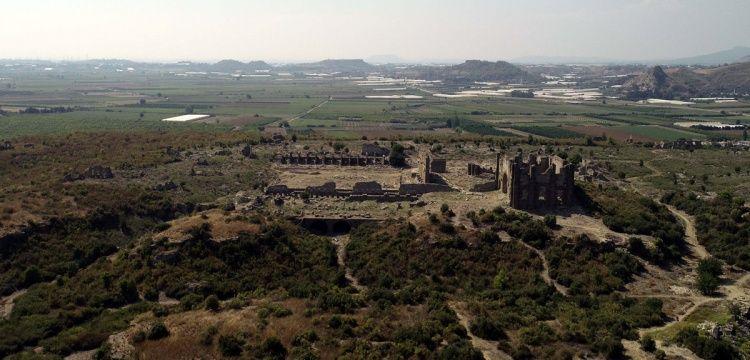 Aspendos'un su kemerleri mühendislik harikası