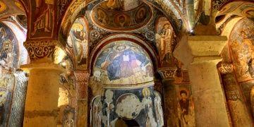 Karanlık Kilisedeki Hz. İsa freskleri özel önlemle korunuyor