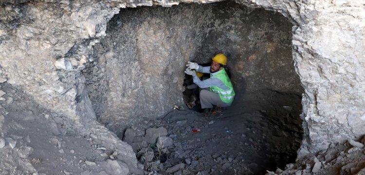 Harput'ta Urartu ve Roma dönemi kaya mezarları bulundu