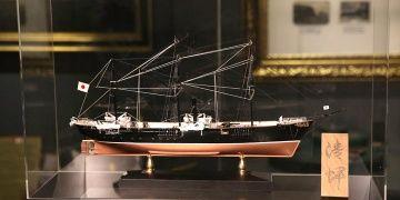 Seiki Japon savaş gemisi maketi Deniz Müzesinde