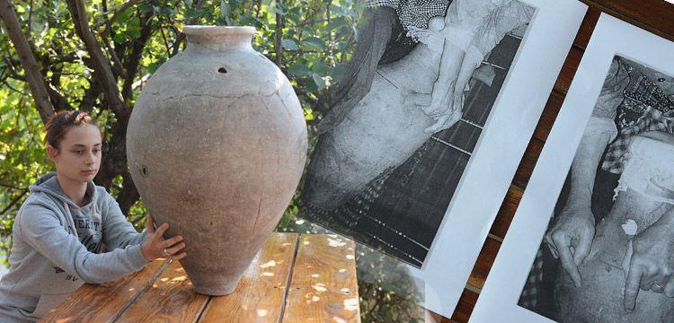 Çanakkale'de arkeologlar 2.500 yıllık 'yayık' buldu