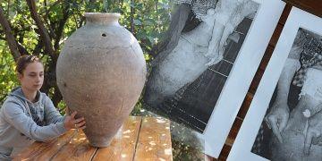 Çanakkalede arkeologlar 2.500 yıllık yayık buldu