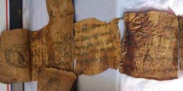 Hakkaride tarihi eser olduğu sanılan İncil yakalandı