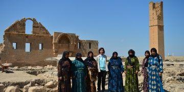 Kadın arkeolog Harranlı kadınlarla çalışmaktan mutlu