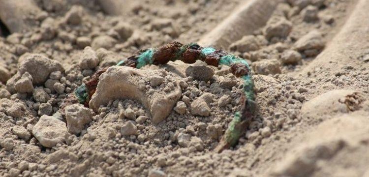 Son Urartu kadınları zengin mezar hediyeleri ile gömülmüş