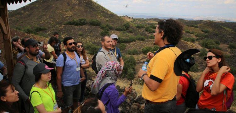 40 öğretmen Kula Volkanik Jeoparkı'nda eğitim aldı