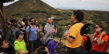 40 öğretmen Kula Volkanik Jeoparkında eğitim aldı