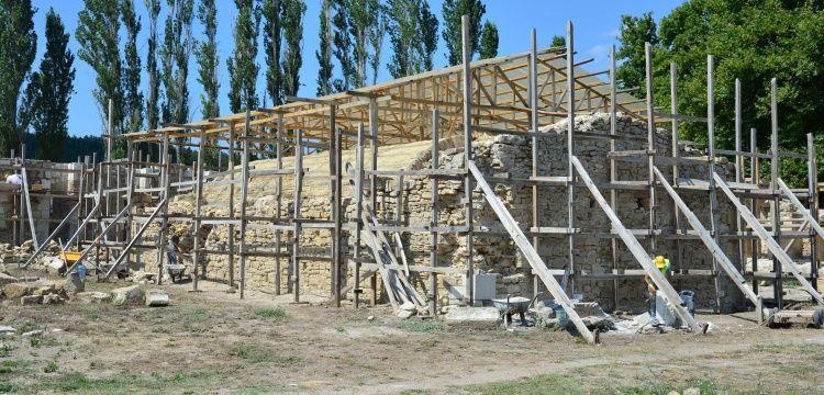 Bigalı Kalesi açık hava müzesi olacak