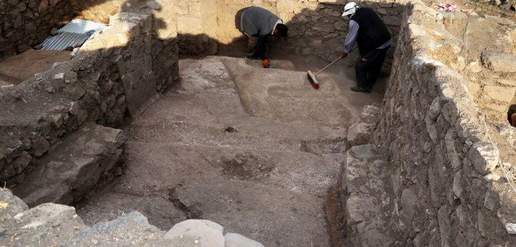 Harput'ta Urartu dönemine ait sunak alanı keşfedildi