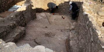 Harputta Urartu dönemine ait sunak alanı keşfedildi