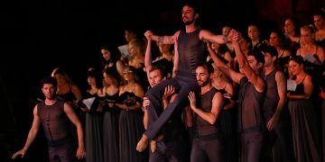 Uluslararası Efes Opera ve Bale Festivalinde final provası yapıldı