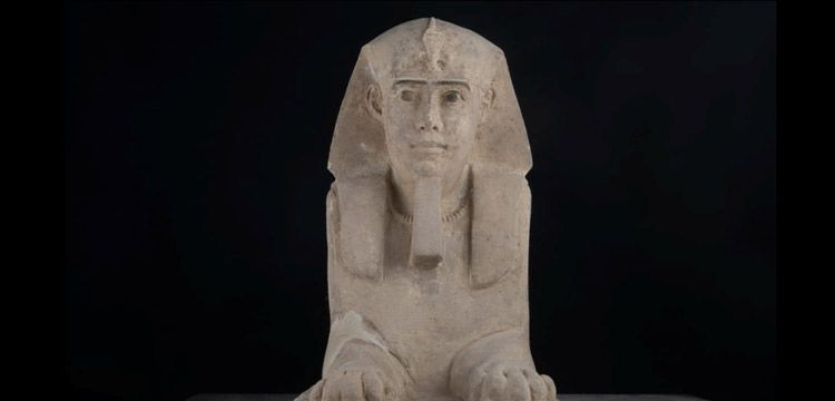 Mısır'daki Kom Ombo Tapınağında Sfenks heykeli bulundu