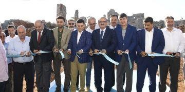 Bayan Aretenin vakıf köyü Lyrboton Kome antik kenti ziyarete açıldı