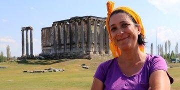 Aizanoi Antik Kentinde Antik Çağda olduğu gibi kayıklar yüzdürülecek
