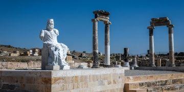 Hierapolis Antik Kenti Hades ve Kerberosun heykeline kavuştu
