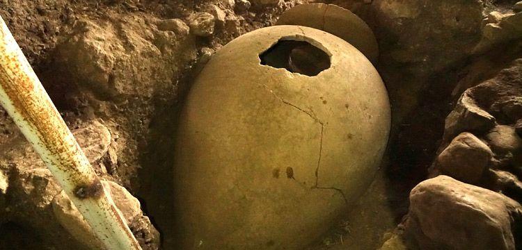 Antandros Antİk Kentİnde pİtos mezarlar bulundu