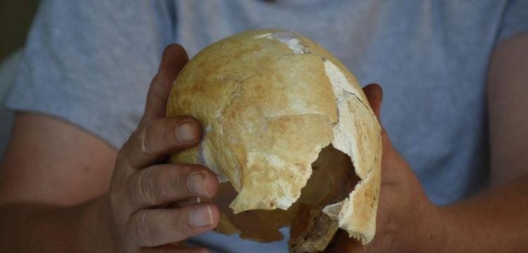 Arslantepe Höyüğü'ndeki 5 bin yıllık şekillendirilmiş kafatasları incelendi