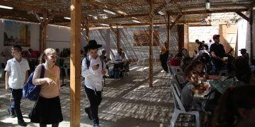 Yahudiler Sukot Bayramını Kutluyor