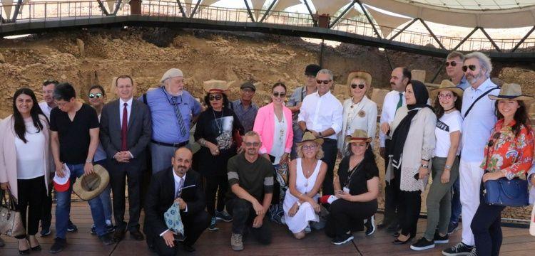 Emekli Ankara büyükelçileri Göbeklitepe'ye hayran kaldılar