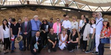 Emekli Ankara büyükelçileri Göbeklitepeye hayran kaldılar