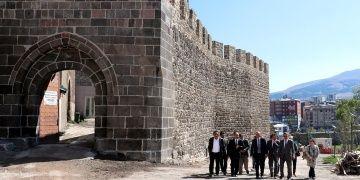 Erzurum Kalesi, DAP desteğiyle onarılıyor