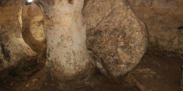 Yozgattaki 17 odalı yeraltı kenti turistlerce gezilebilecek