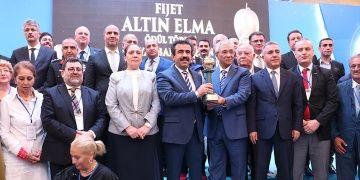 Diyarbakır, FIJETin Altın Elma Ödülünü törenle aldı