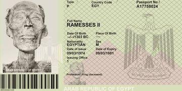 Adına pasaport çıkarılan tek Mısır firavunu: II. Ramses