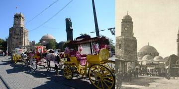 Antalya Saat Kulesi, tarihi kubbesine yeniden kavuşacak