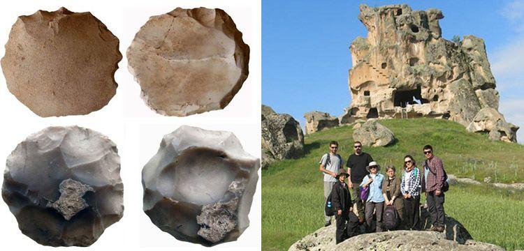Eskişehir'de biri 200 bin diğeri 10 bin yıllık iki taş devri aleti bulundu