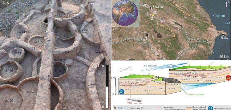 Bilinen en eski sulama kanalları Kafkasya'da keşfedildi