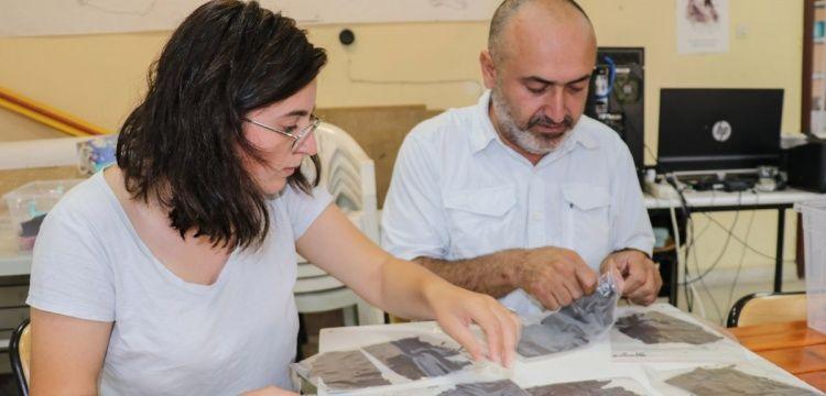 Arkeoloji kazısında bulunan ilk Osmanlıca belgeler restore ediliyor