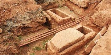 Euromosta bulunan 8 farklı tipte 18 antik mezar korumaya alındı