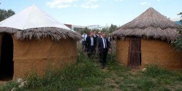 Başkan Alinur Aktaş Aktopraklıkta incelemelerde bulundu